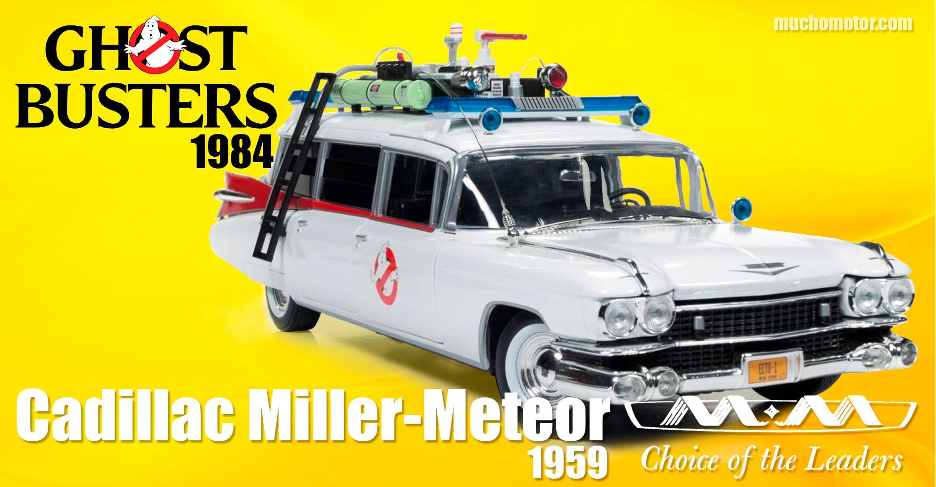 Coches Cine Cazafantasmas Cadillac Miller Meteor