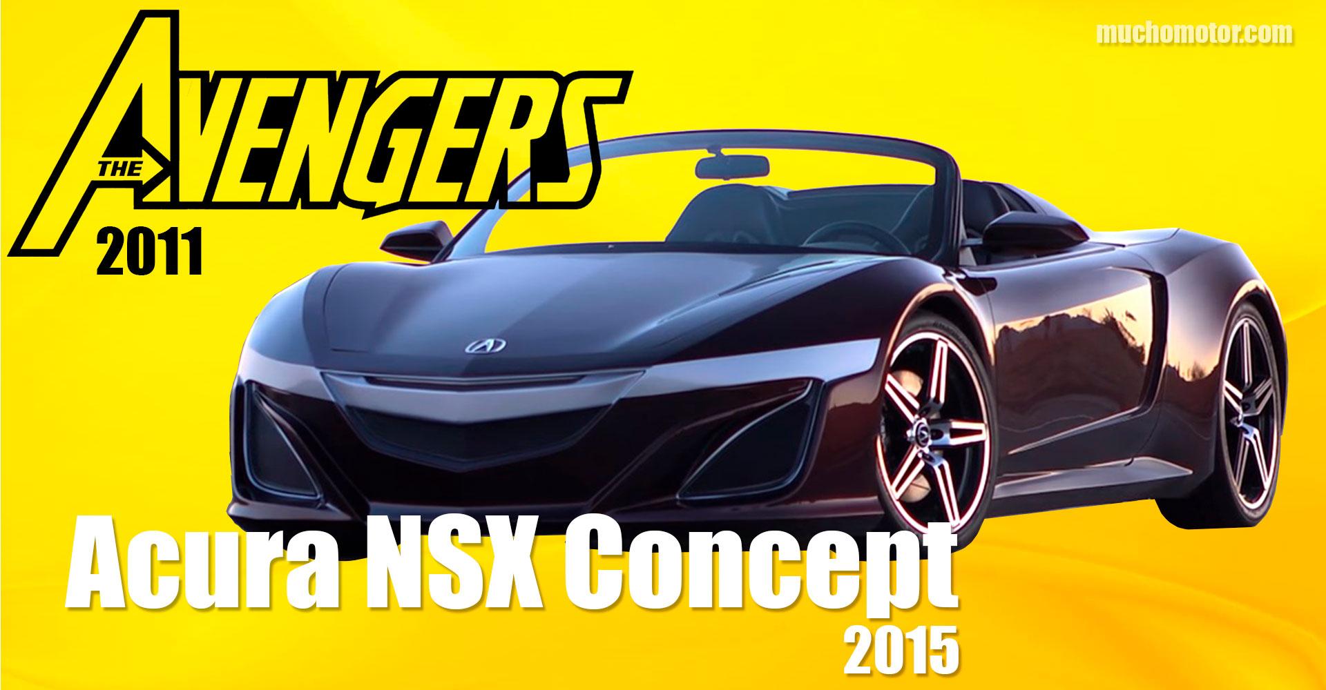 Coches Cine Los Vengadores Acura NSX