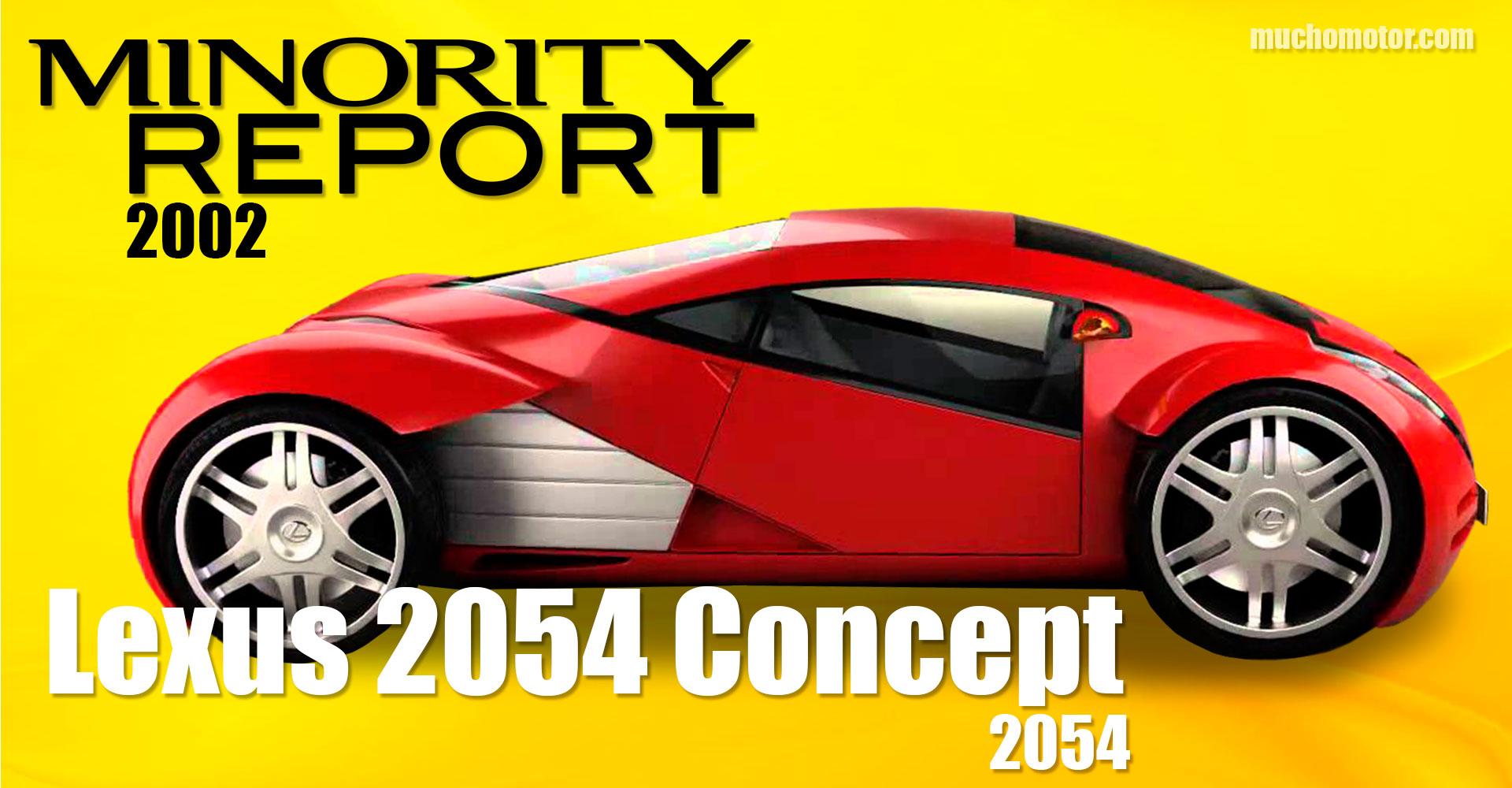 Coches Cine Minority Report Lexus Concept