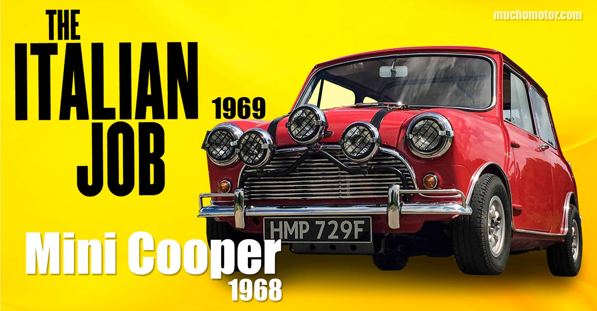 Coches Cine italian Job 1969 Mini Cooper